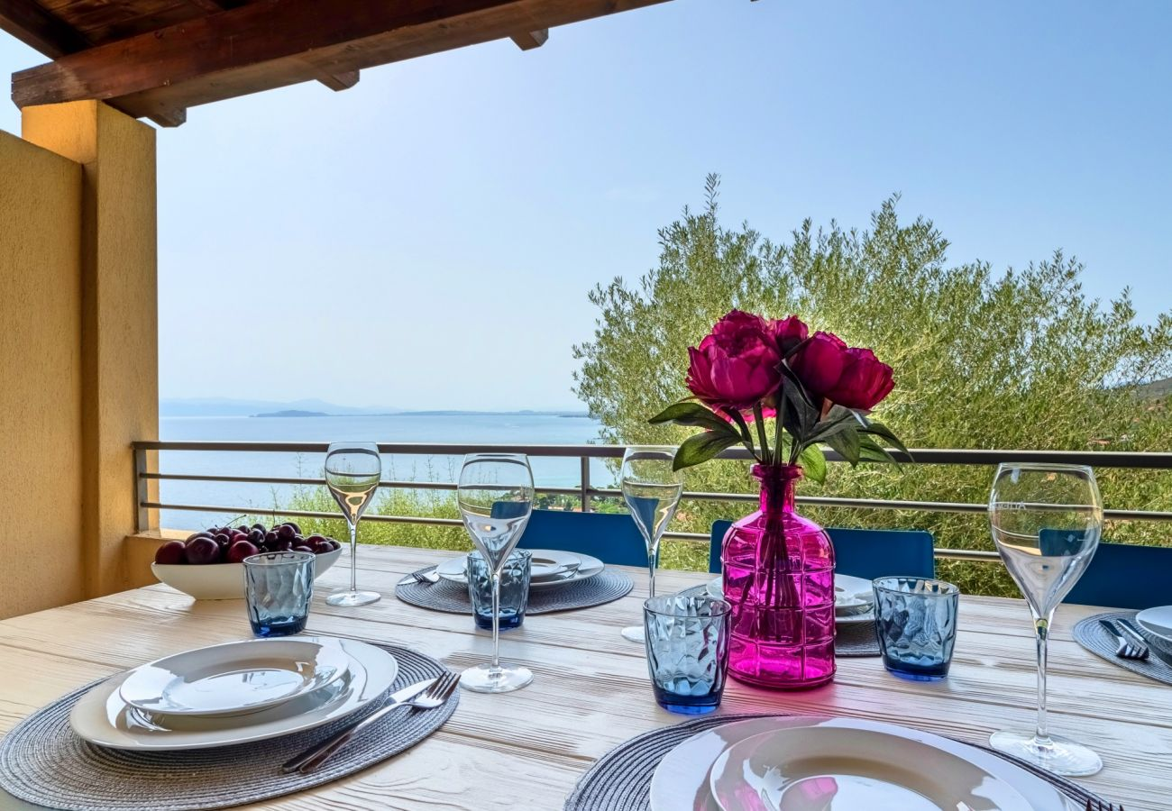 Villa à Quartu Sant´Elena - Holiday home with pool to rent in South Sardinia