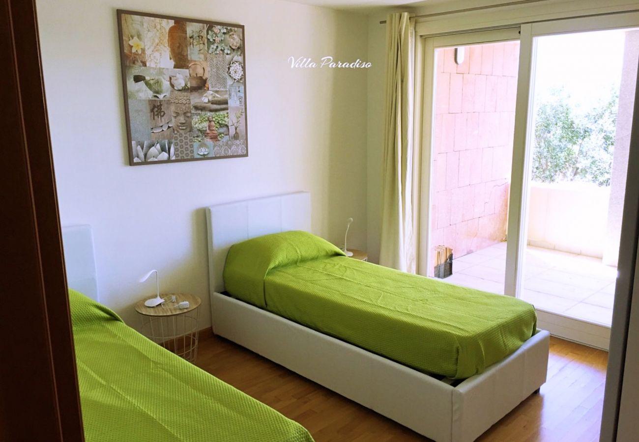 Villa in Quartu Sant´Elena - Villa to rent with pool and sea views in Sardinia