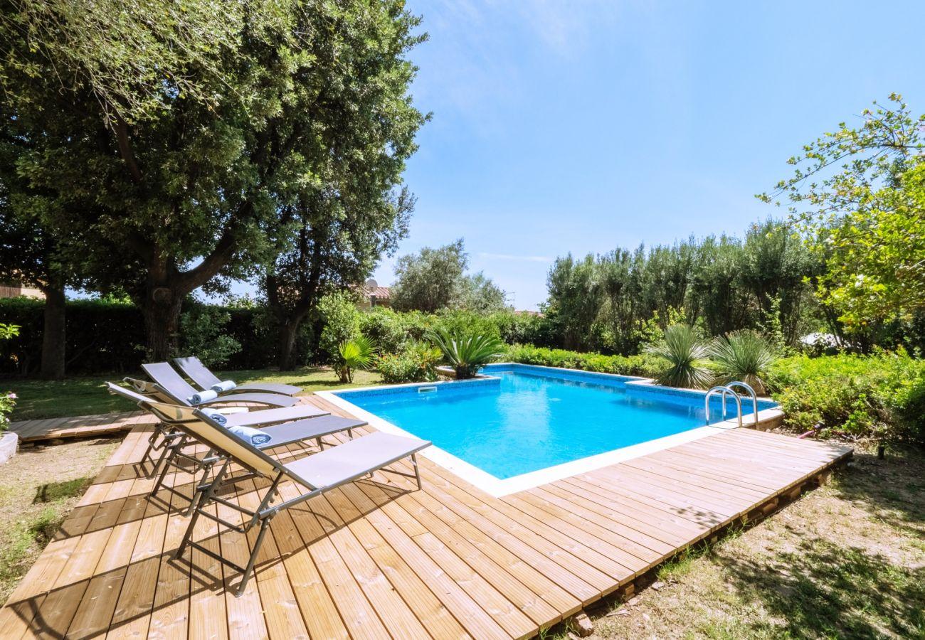 Villa in Maracalagonis - Holiday rental in Torre delle Stelle, Sardinia